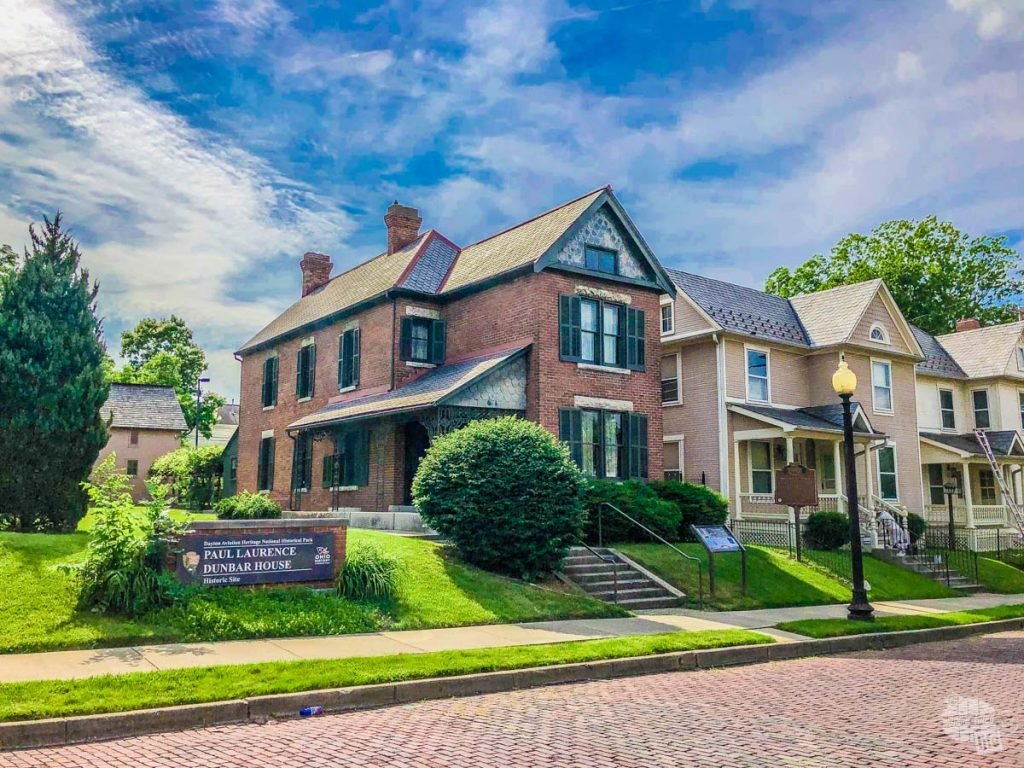 The final home of the famed poet Paul Laurence Dunbar