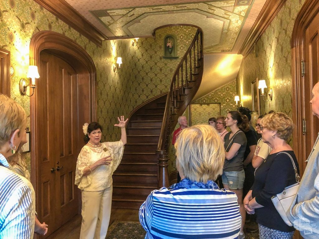 A tour of the home of First Lady Ida Saxton McKinley.