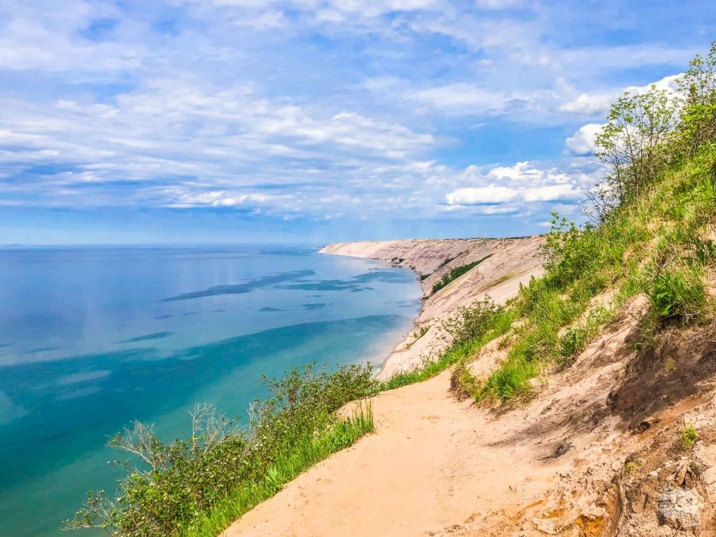 Sand dunes at Pictured Rocks National Lakeshore.