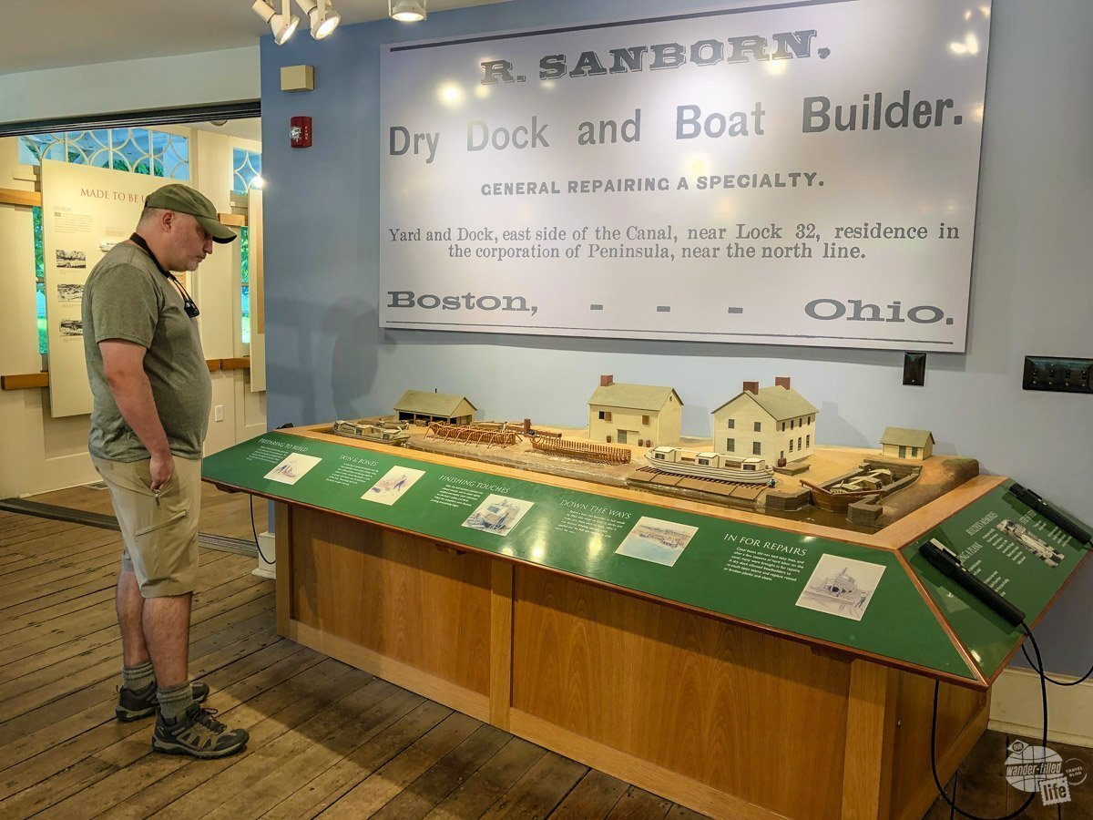 A stop at the Boston Store Visitor Center is a must at Cuyahoga Valley NP.