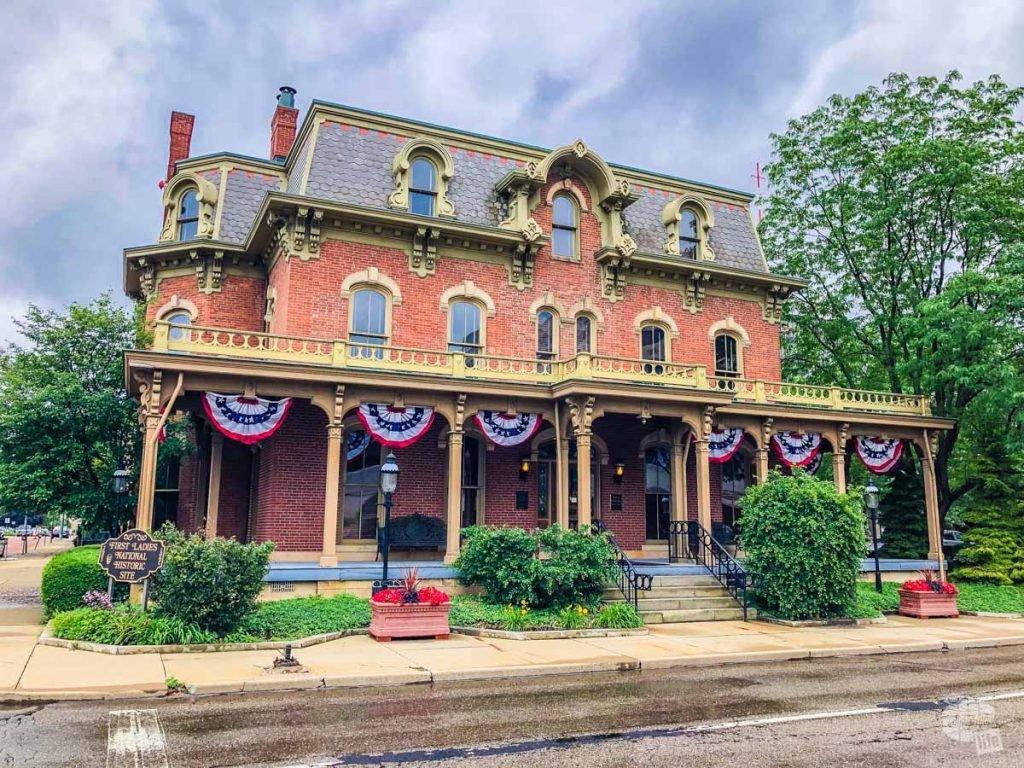 The Ida Saxton McKinley home
