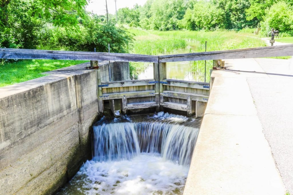 Learning about locks was one of our favorite things to do in Cuyahoga Valley National Park