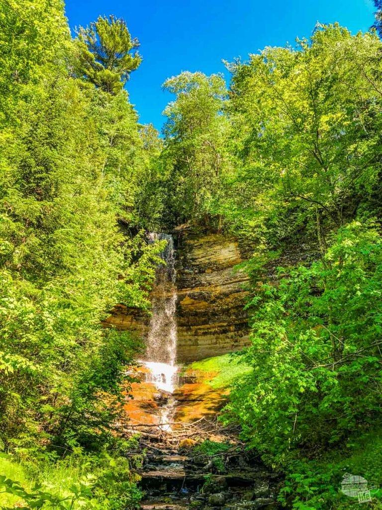 Munising Falls at Pictured Rocks NL.