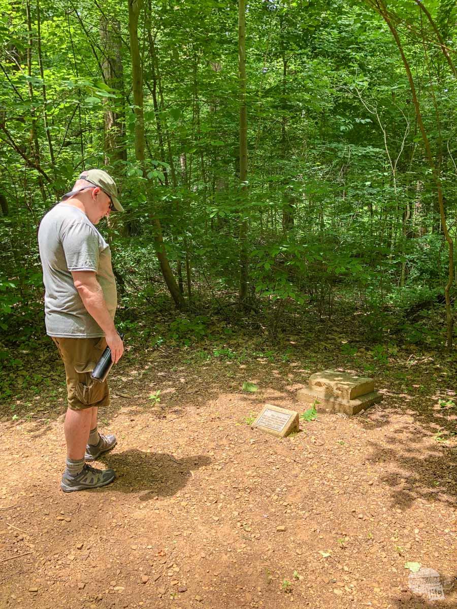 Trail of Twelve Stones at Lincoln Boyhood NM