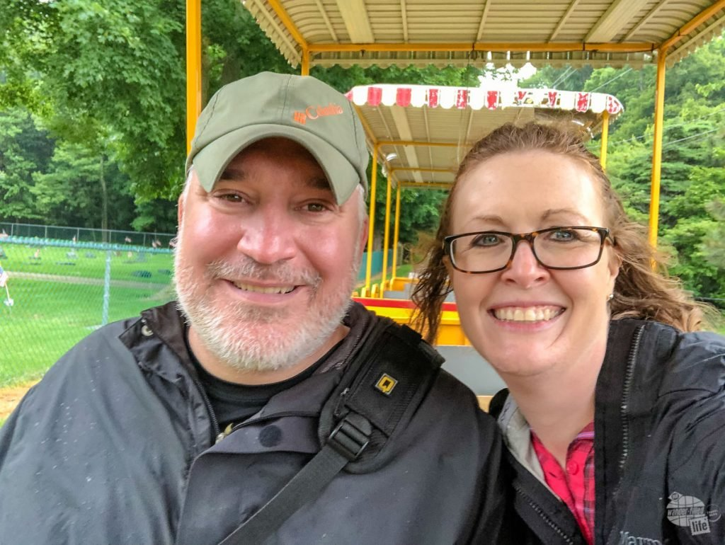 Despite the rain, we took the train tour around the island. We really enjoyed the tour and recommend it as a way to see an get to some of the other areas on the island.