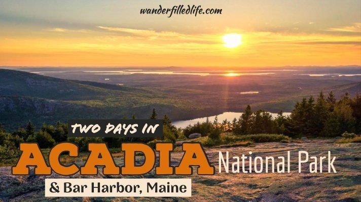 Acadia National Park & Bar Harbor
