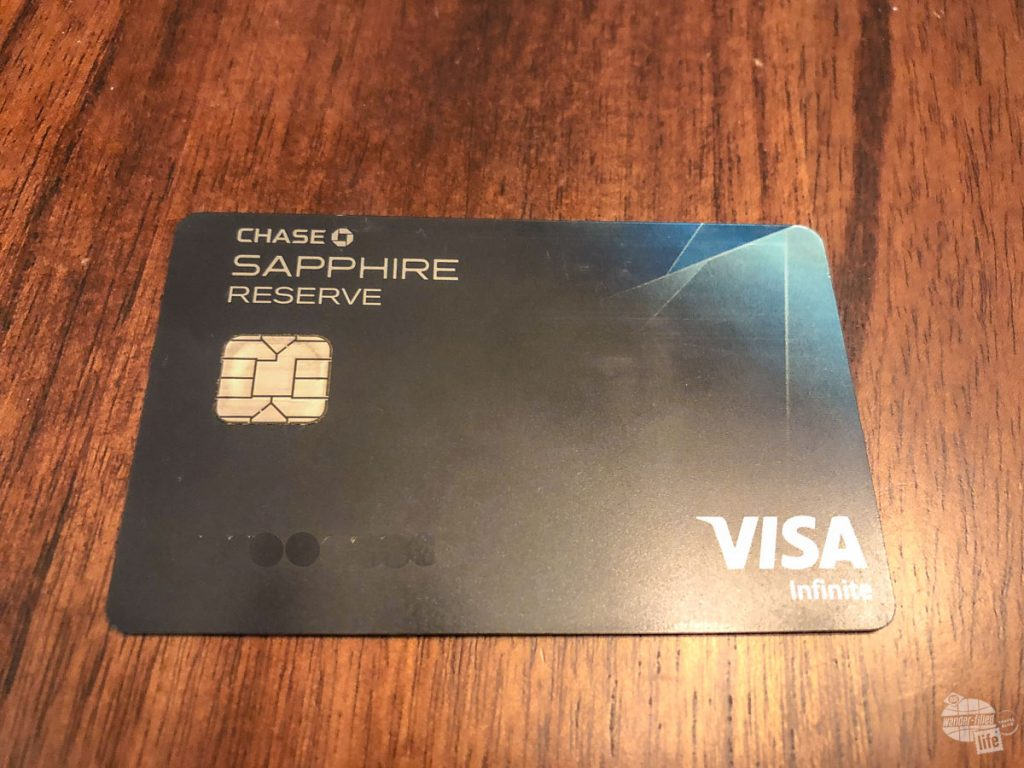 The Chase Sapphire Reserve card is an outstanding travel credit card and one of three Chase cards which grant Chase Ultimate Rewards Points. I am sure you will not begrudge me editing out our personal information.