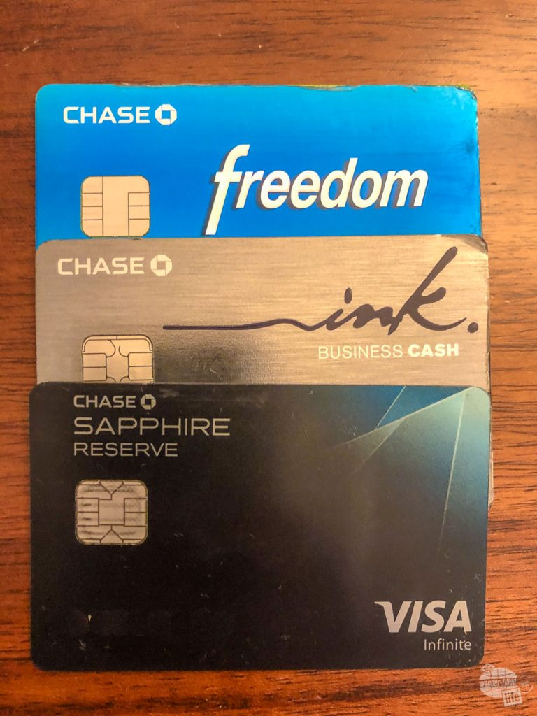 The Chase Freedom and Chase Ink Business Cash, as long as they are used in conjunction with a card that earns Ultimate Rewards Points, like the Chase Sapphire Reserve, all earn Ultimate Rewards Points.