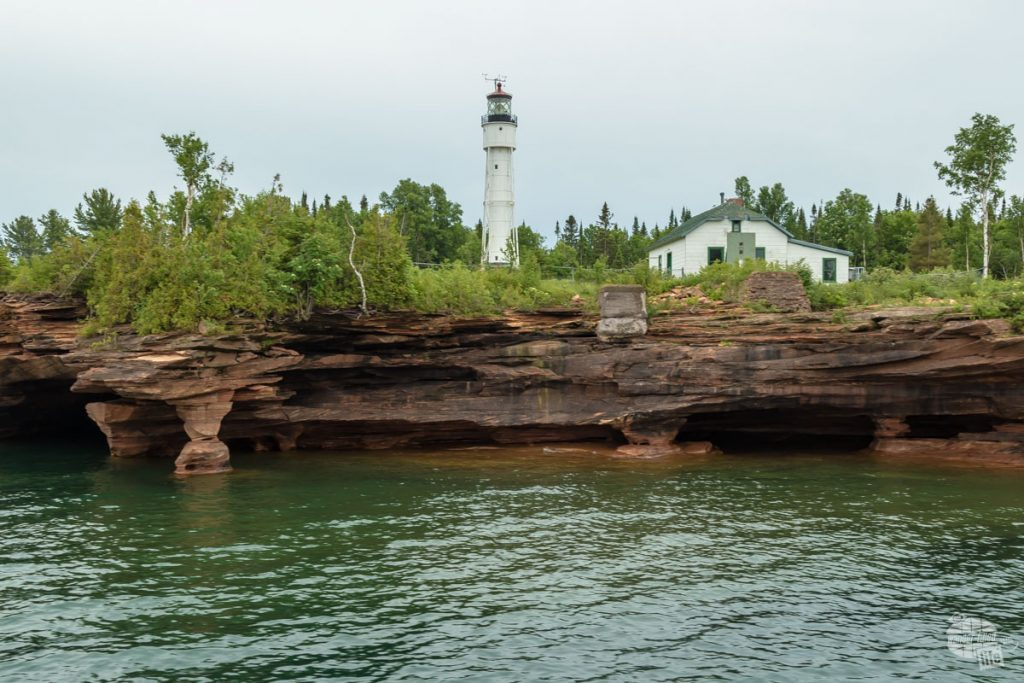 Devil's Island Light at Apostle Islands NL.