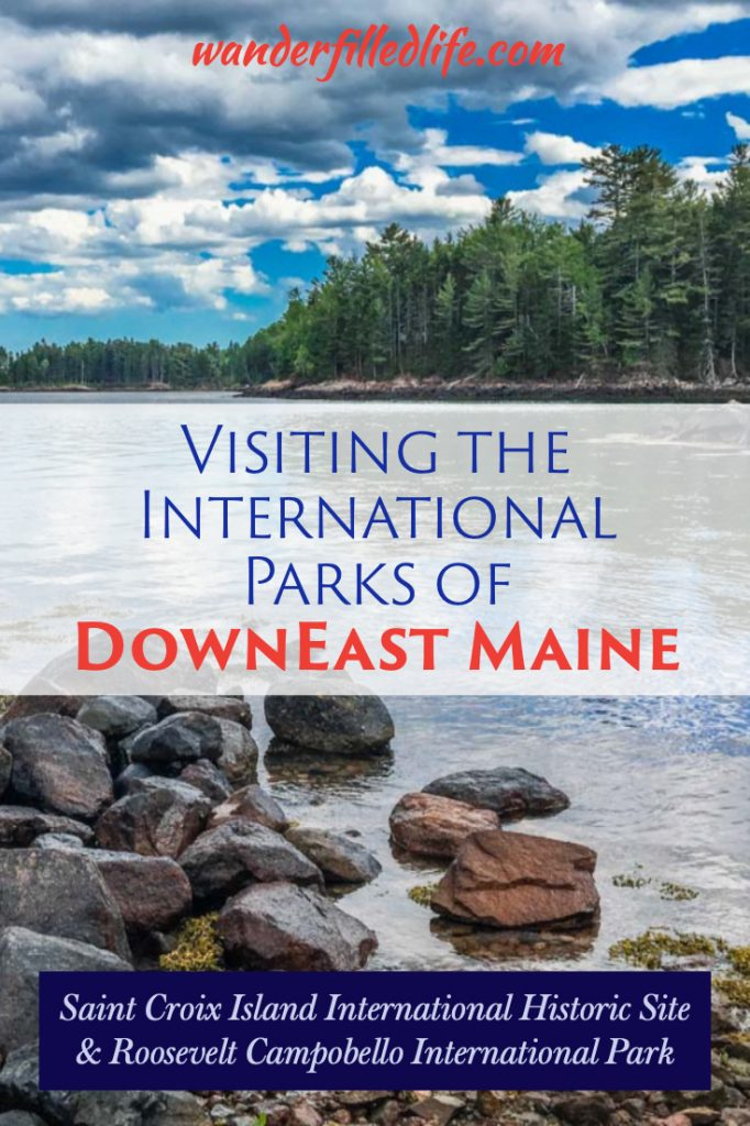 Roosevelt Campobello and St. Croix Island international parks are some of the more remote National Parks sites in the country... Heck, one is in Canada!