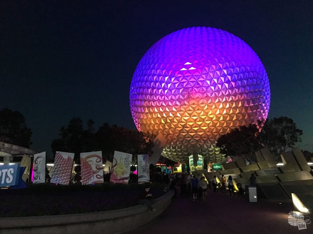 Epcot is one of our favorite parks at night. The evening show is spectacular and the dining can't be beat.