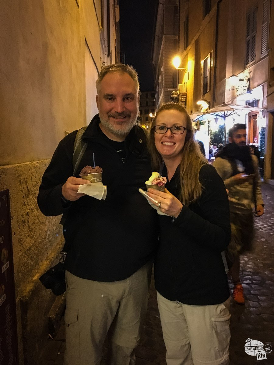 Gelato is a must on any visit to Italy!