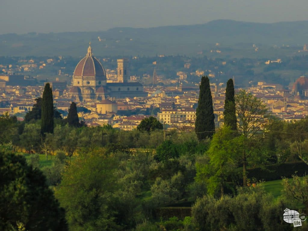 How can you go wrong with this view in the morning of Florence? This s the view from our room at Villa La Stella!