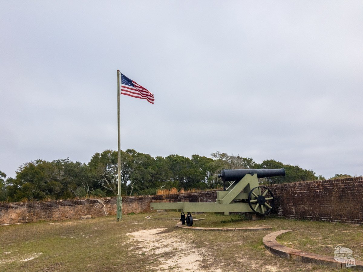 Fort Barancas, along with Fort Pickens and Fort McRee, was designed to protect the Pensacola Navy Yard.