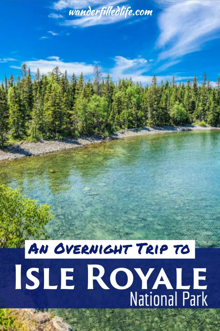 While it is tough and expensive to get to, Isle Royale National Park was easily one of the prettiest, most serene places we have ever been.