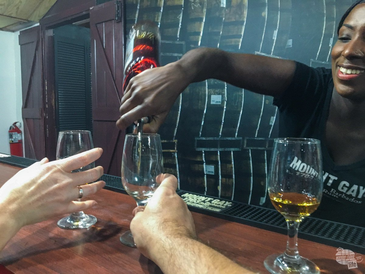 We enjoy visiting all manner of breweries, distilleries and wineries. We love sampling local drinks and food.