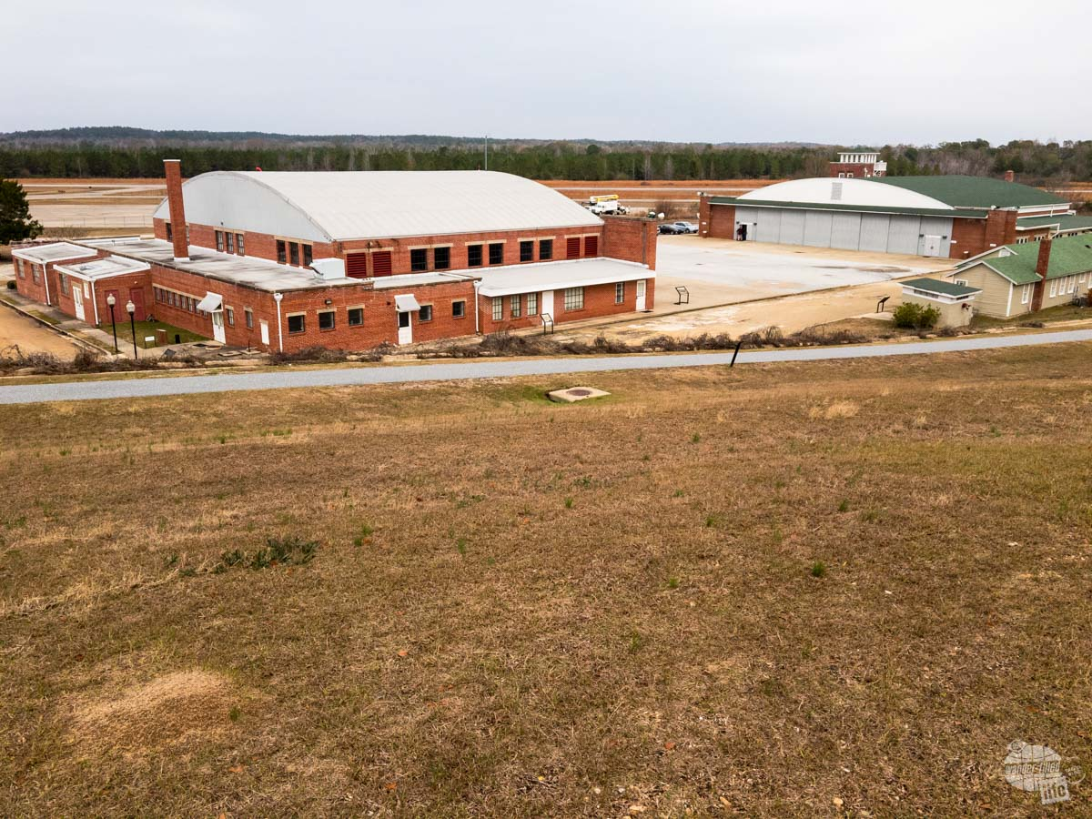 t may not look like much, but Moton Field holds a lot of history for the Tuskegee Airmen. Inside the hangars are extensive exhibits on the Tuskegee Airmen and their life here.