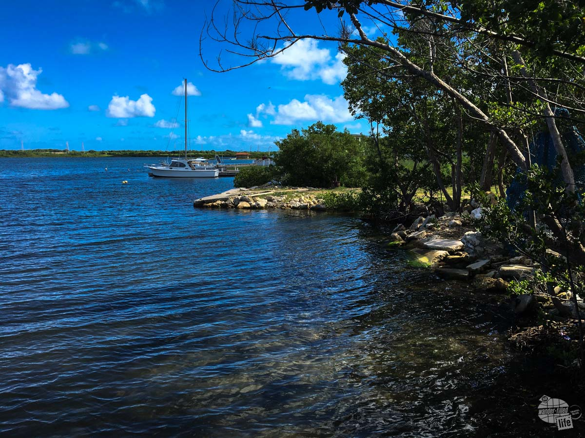 A rural inlet on Antigua