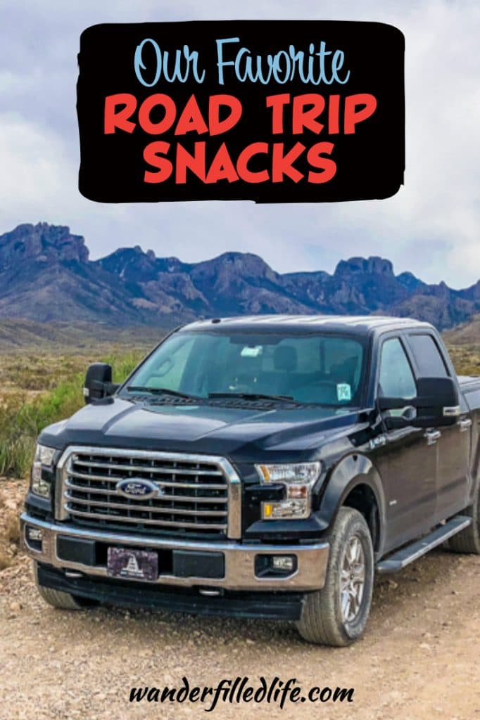 When you're hitting the road, you gotta have the right road trip snacks. Here we share our favorite snacks, both healthy options and guilty pleasures.