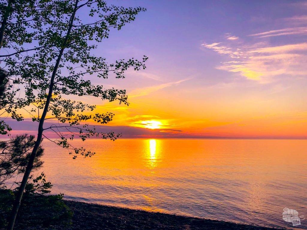 Sunset at Sunset Bay