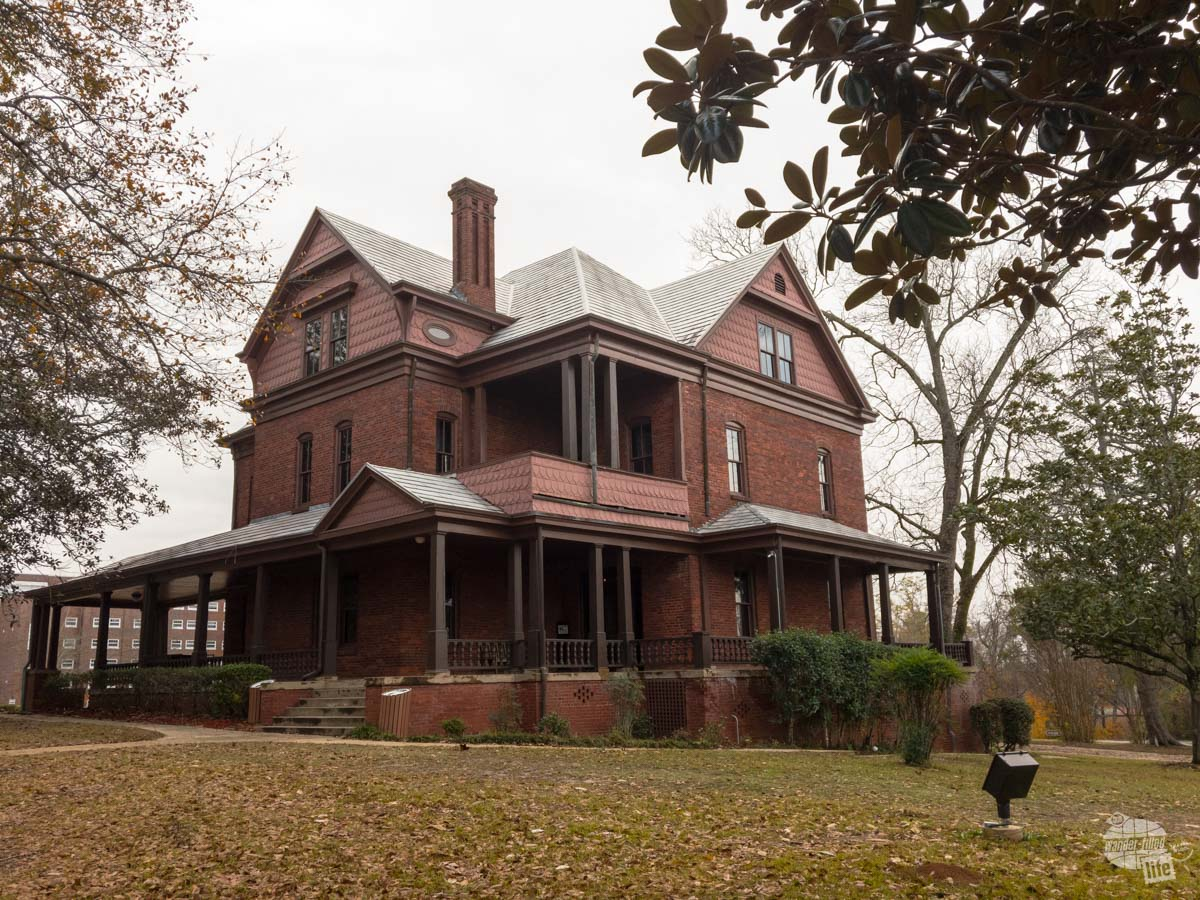 """""""The Oaks,"""" the home of George Washington Carver on the campus of Tuskegee University"""