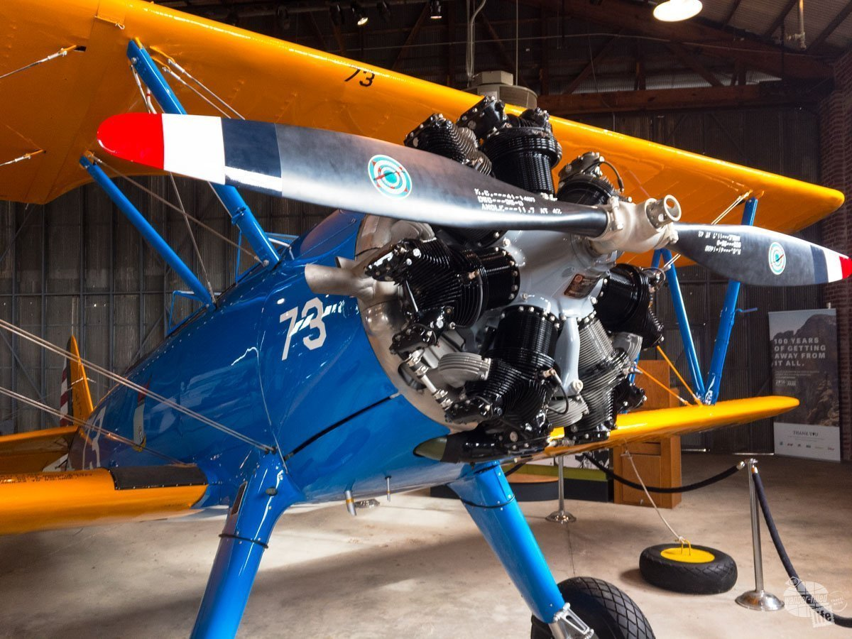 One of the trainers used by the Tuskegee Airmen while learning how to fly.