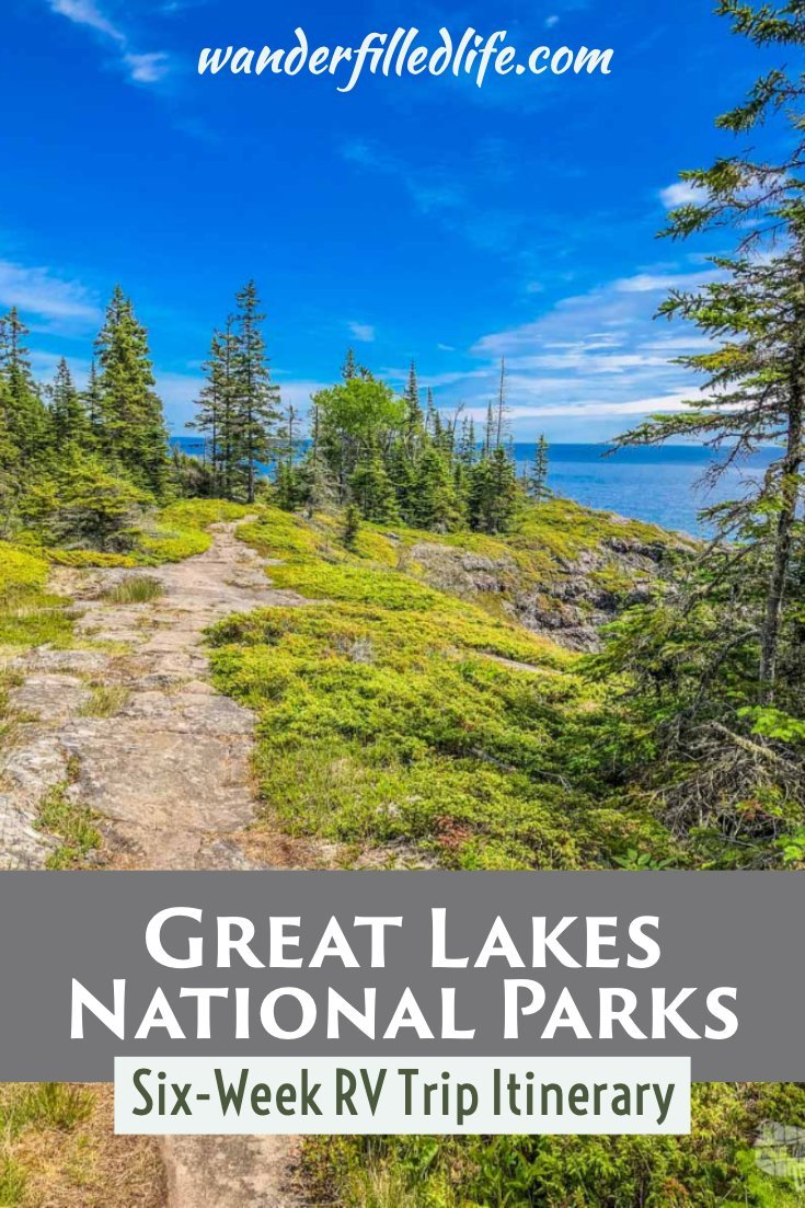 If you're looking to visit the Great Lakes national parks, our six-week itinerary takes you to all of the sites in Indiana, Ohio, Michigan plus a few more.