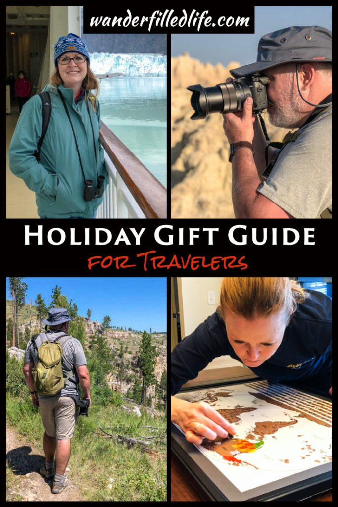 Looking for holiday gifts for a traveler? Our holiday gift guide includes gift ideas for men, women and couples of all travel styles.
