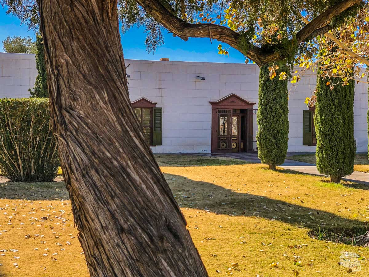 The Magoffin Home State Historic Site is an adobe structure dating back to the 1870s.