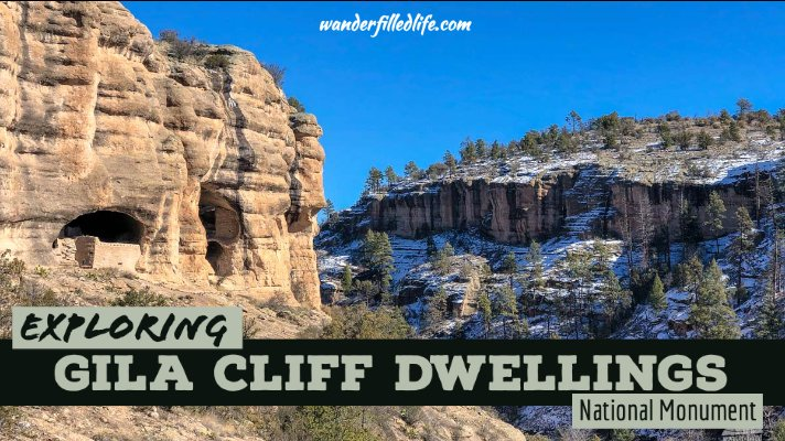 Visiting Gila Cliff Dwellings National Monument
