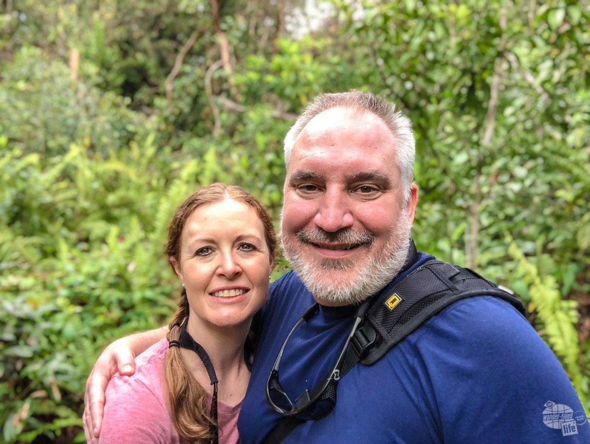 Gumbo Limbo Trail selfie