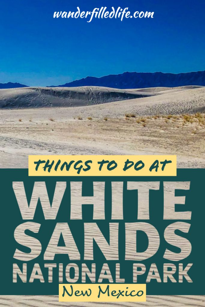 White Sands National Park preserves the largest and most unique dune field in the world. Check out the things to do at White Sands NP as you plan your trip.