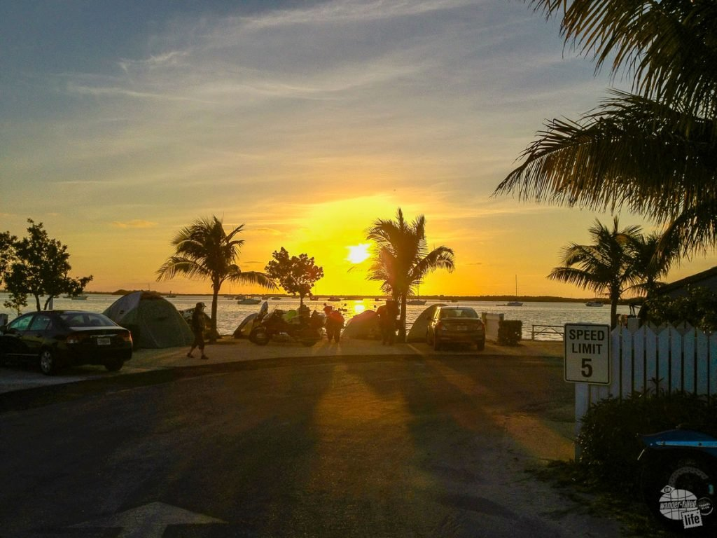 Sunrise at Boyd's in Key West.
