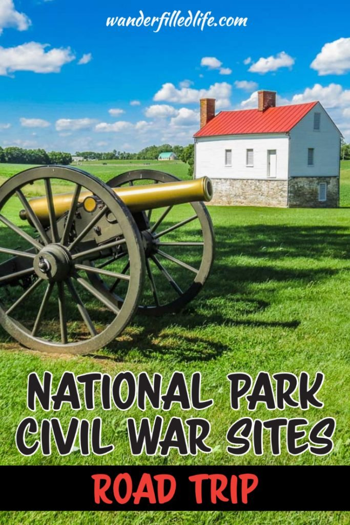 Looking to experience the War between the States? This Civil War road trip will take you to every major site run by the National Park Service.