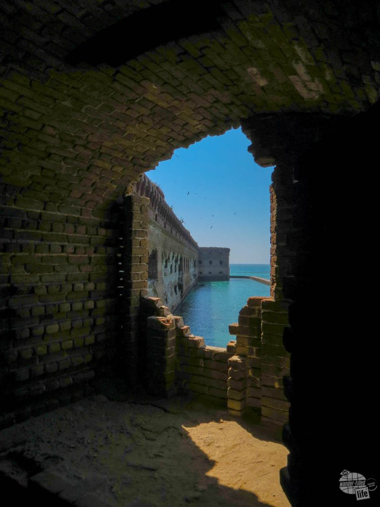Fort Jefferson at Dry Tortugas National Park.