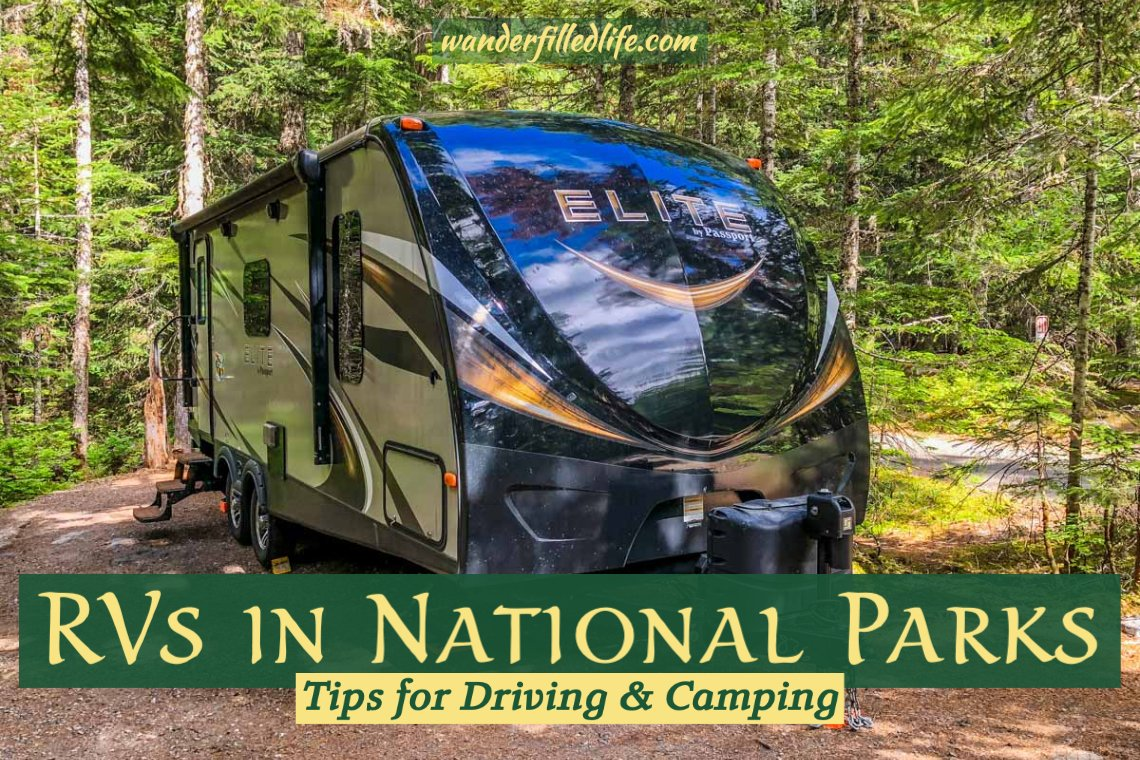 RV in National Parks
