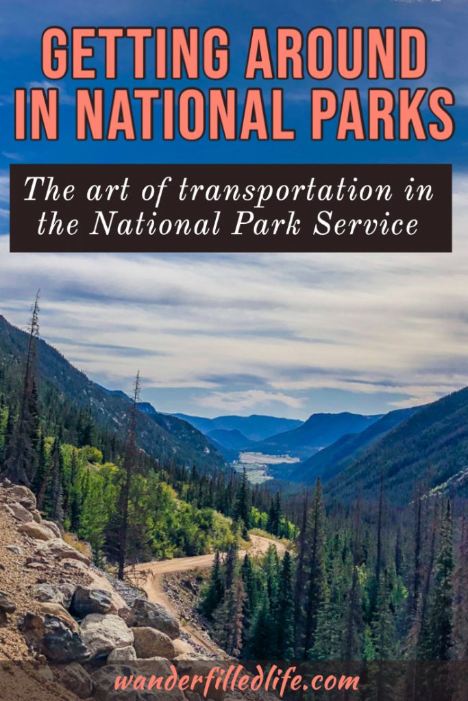 Getting around the National Parks can be a bit challenging without a car but the National Park Service makes the process almost art. In honor of Transportation Tuesday, we take a look at transportation in the parks: from National Parkways to unimproved dirt roads; personal autos, shuttles, boats and more. It doesn't take long to realize transportation in the parks is as varied as the parks themselves.