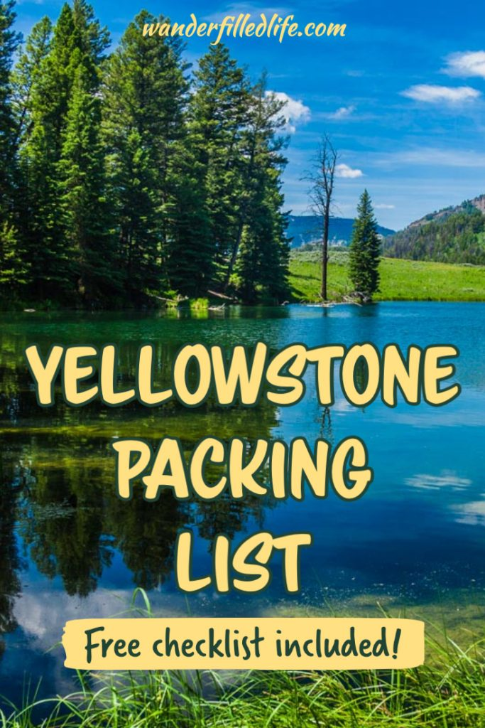 Prepare to visit America's first National Park with our Yellowstone Packing List. We've got recommendations for clothes, hiking gear, camera gear and more!