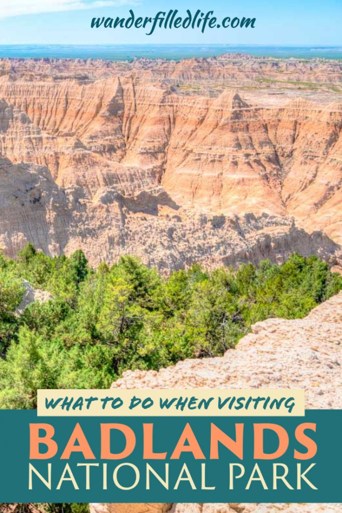 Suggestions for what to see and do when visiting Badlands National Park in South Dakota. With scenic drives, easy hikes, and wildlife it's a must-see park.