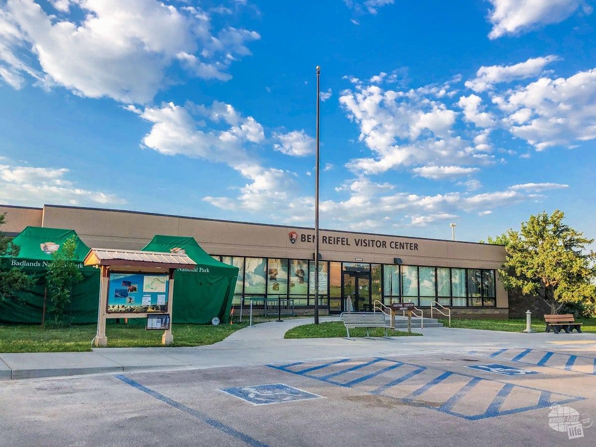 Badlands National Park Visitor Center