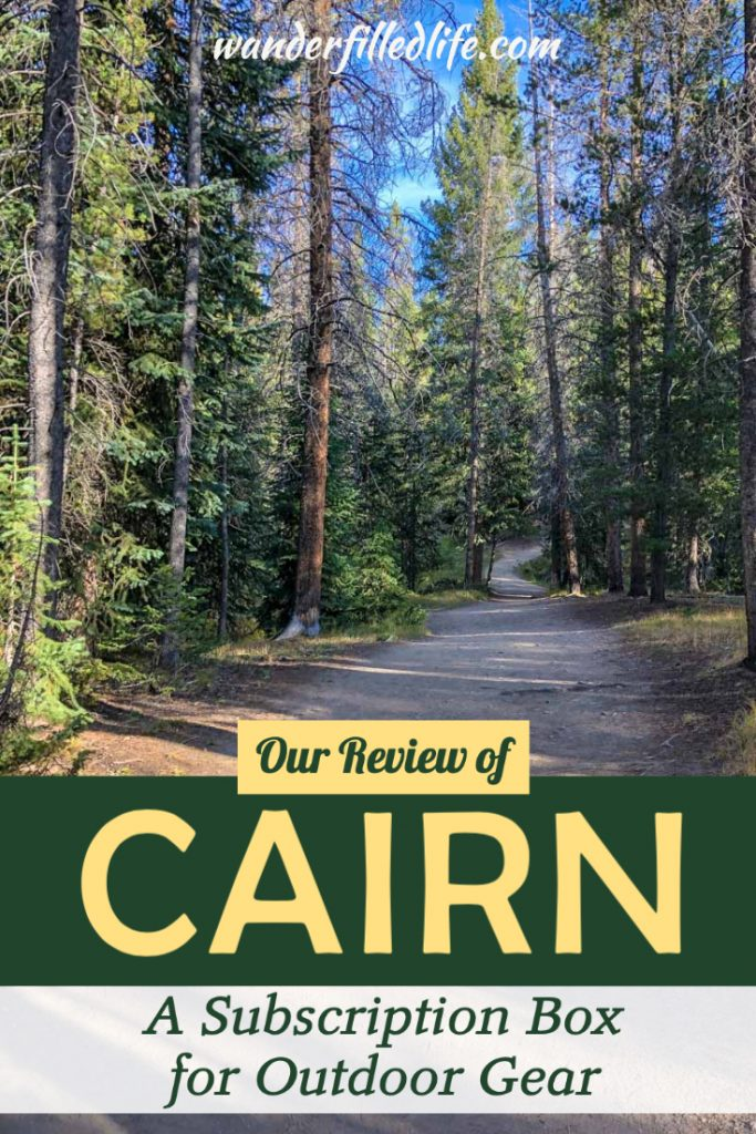 Looking for good outdoor gear? Consider a Cairn box subscription. This monthly subscription for outdoor lovers bring new gear to your door every month.