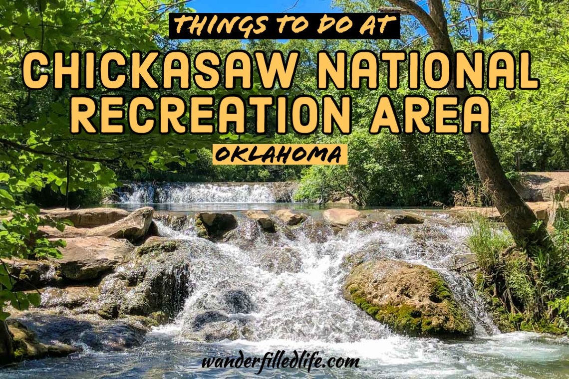 Things to Do at Chickasaw National Recreation Area