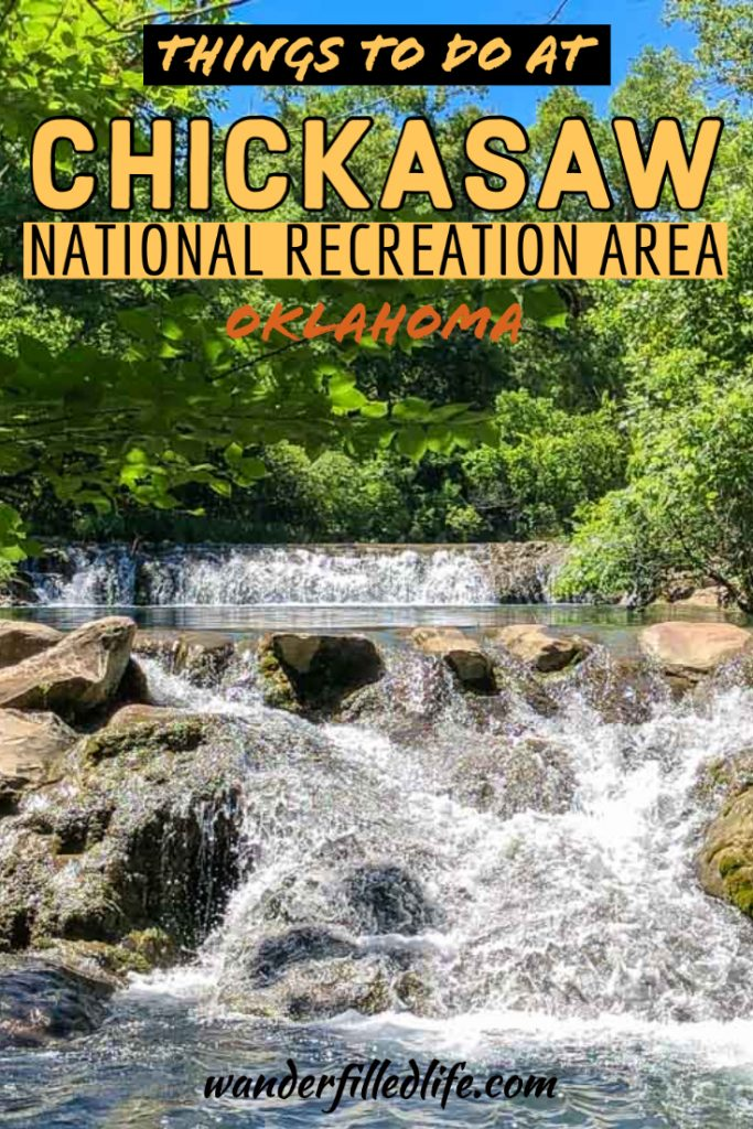 There are some amazing things to do in Chickasaw National Recreation Area including hiking, boating and mineral springs plus a herd of bison!