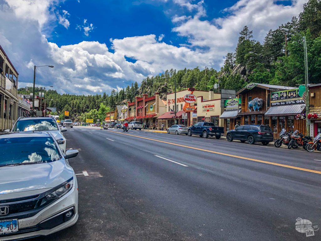 Keystone, SD is a nice little town in the Black Hills.