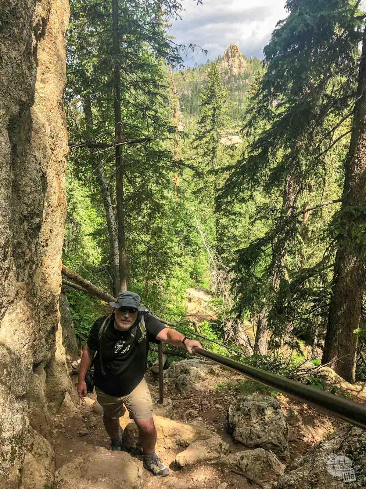 The Sunday Gulch Trail was a fun hike at Custer State Park.