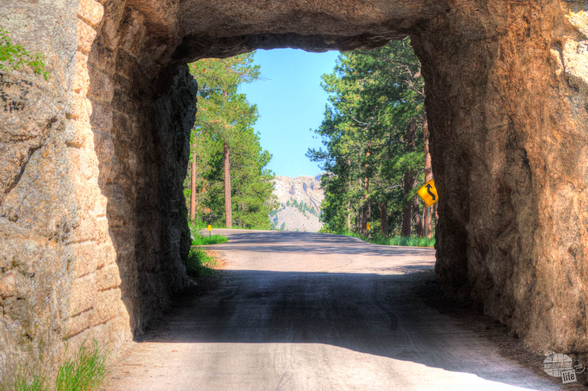 Seeing Mount Rushmore through the tunnels on Iron Mountain Road is a real treat!