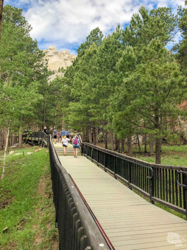 Walking the Presidential Trail is one of our favorite things to do at Mount Rushmore.