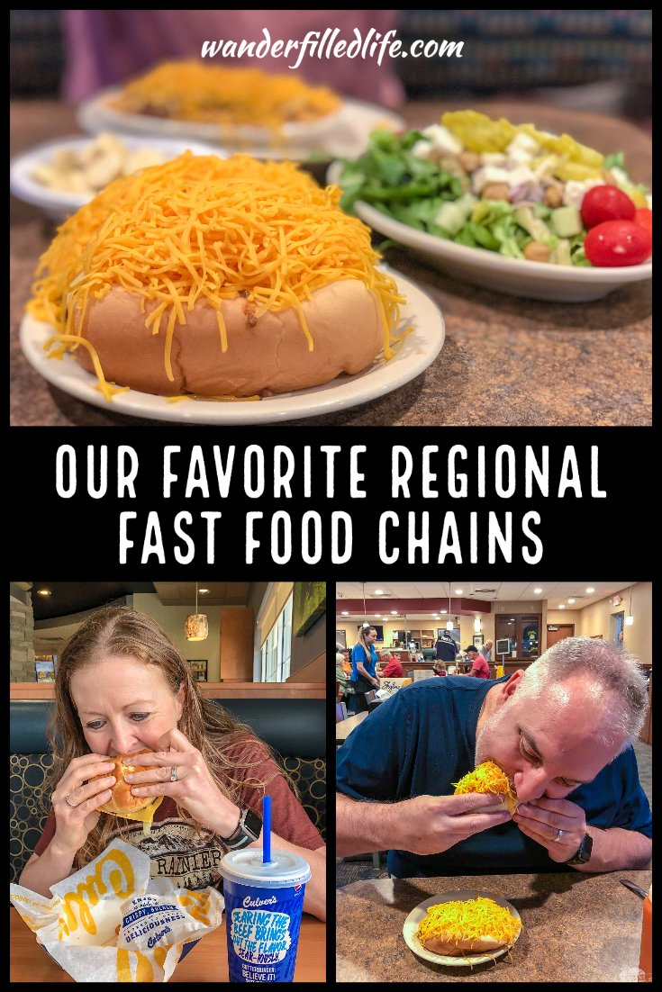 When we hit the road, we are always looking out for new fast food places to try. These are some of our favorite fast food joints from around the country.
