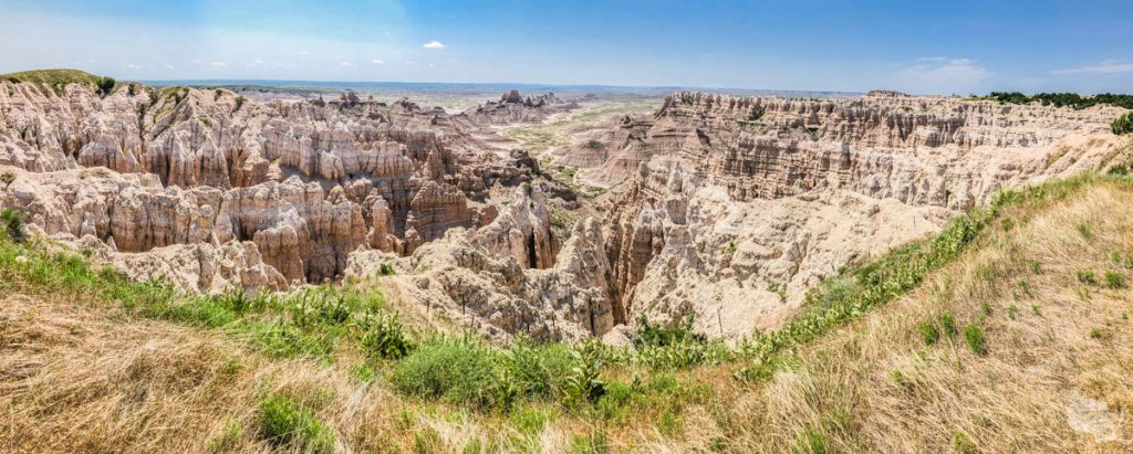 The South Unit of Badlands NP is worth the drive.