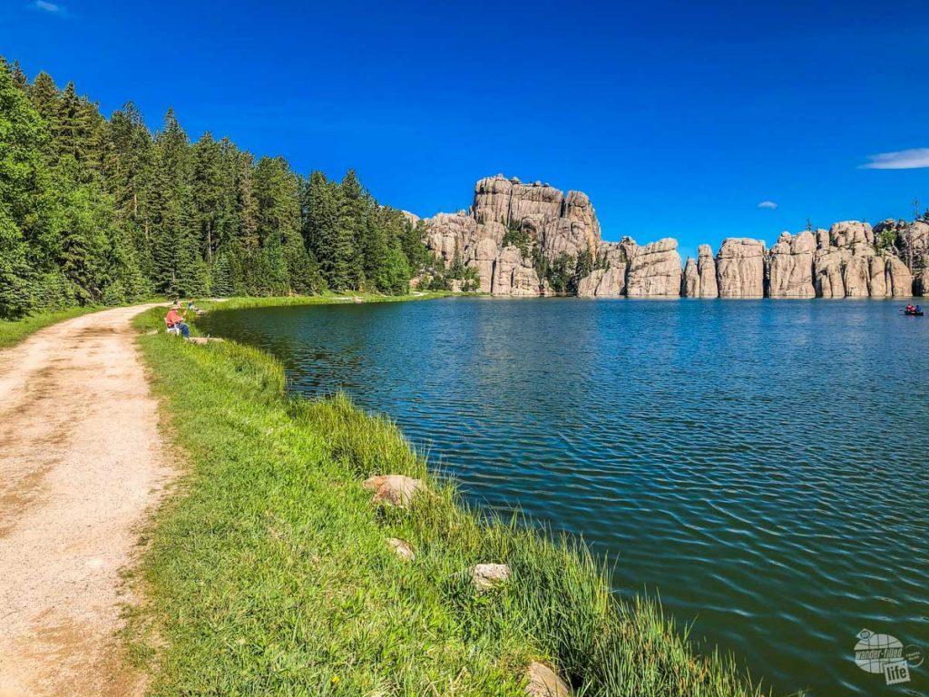 You simply must visit Sylvan Lake when at Custer State Park.